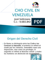 Derecho Civil en Venezuela