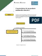 Caracteristicas Principales Producto Multimedia Educativo
