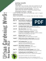 Urban Ag Workshops New Haven 2013