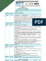 Programación 1ºWorkshop Internacional En Investigación Contable 2013 UPTC Sogamoso
