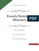 Escuela Dominical Misioneria David Francis Libro