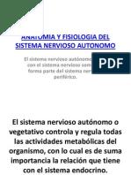 Anatomia y Fisiologia Del Sistema Nervioso Autonomo (1)