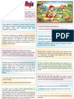 Caperucita Roja-Ordenar Parrafos