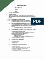 DH B5 Team 8 Drafts-Memos Fdr- Report Detailed Outline- AA 11 AA 77 UA 175 NEADS Otis FAA NORAD Hijack Scramble