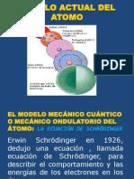 Modelo Actual Del Atomo