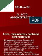 Unidad Ix- Acto Administrativo