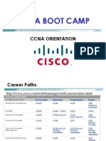 001 - Cisco Boot Camp Day 1 Orientation