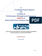 Project Report on Performance Management System in NHPC1