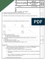 Devoir de Synthèse N°3 - Sciences physiques - 2ème Sciences (2010-2011) Mr attaoui hechmi.pdf