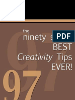 97 Best Creativity Tips Ever
