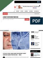A Man to Refound Pakistan