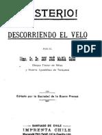 Descorriendo El Velo - Jose Maria Caro