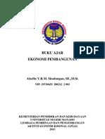 Buku Ajar Ekonomi Pembangunan