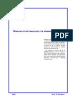 Windows Scripting Guide for Administrators