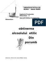 44923068 Obtinerea Alcoolului Etilic Din Porumb