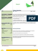 Accumulate Sintex Industries Target 200-240
