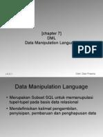 Chapter 7 - DML (Bagian 1)