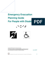 NFPA EvacuationGuide for Disabled