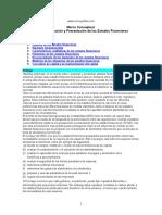 Preparacion Estados Financieros