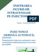 administrarea drogurilor intravenoase
