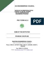 Pec Form Ac-2 (Revised)