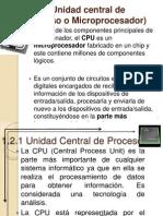 Funcionamiento CPU