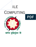 Mobile Computing Unit 1 , 2