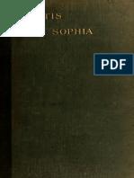 Pistis Sophia, A Gnostic Gospel - G R S Mead   (1896)