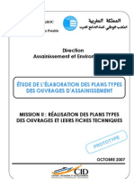 Ouvrages-Types Assainissement ONEP MAROC- 2007(1)