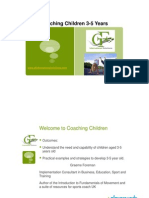 Northern Ireland Coaching Children 3-5 Years (1)