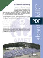 AMET Brochure