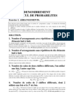14660935 Exercices Corriges de Probabilites