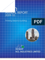 Mangalam Cement Annual Report FY10
