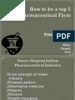 Pharma strategies