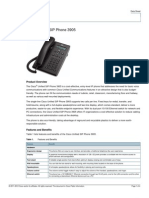 Cisco 3905 Datasheet