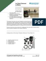 Pan a Metrics Ultrasonic Flowmeter