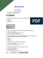 Cuestionario Word 2000