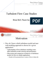 6819900 Turbulent Flows Case Studies FLUENT