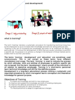 Concepts of Training and Development