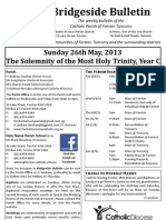 2013-05-26 - Trinity Sunday Year C