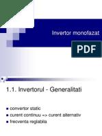 Invertor monofazat