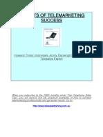 Secrets of Telemarketing Success