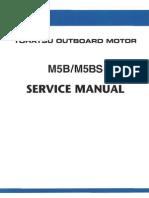 Tohatsu M5b service manual
