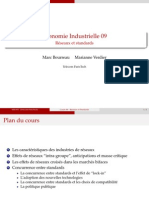 Economie Industriélle Reseaux Standards