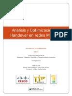 Analisis y Optimizacion Del Handover en Redes MobileIP