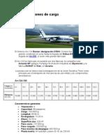 Tipos de Aviones de Carga
