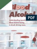 Alcohol Blood Testing