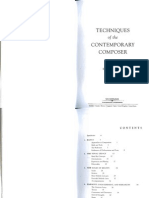Cope David_Techniques of the Contemporary Composer