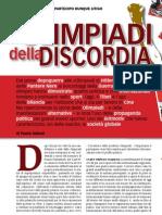 Paolo Sidoni - Le Olimpiadi della discordia