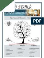 Corso di Laurea in Matematica - Piano Didattico